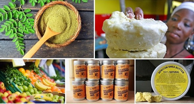 Export of African Food and Cosmestics